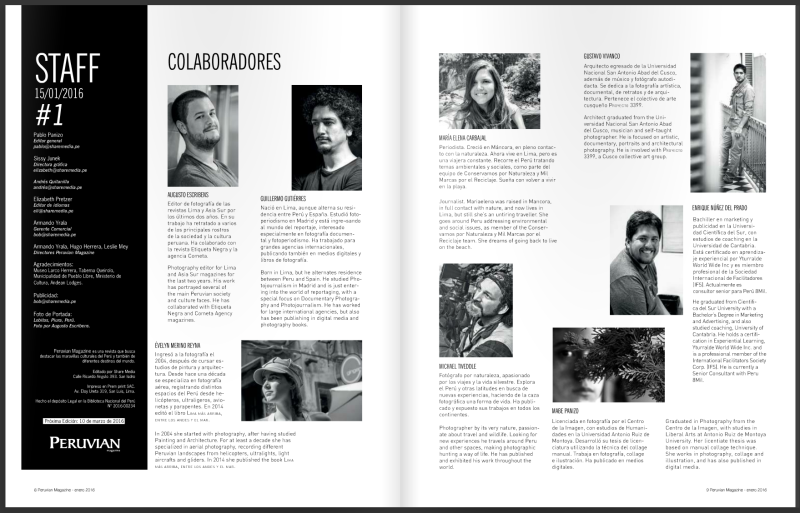 Peruvian Magazine 01
